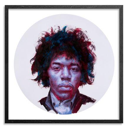 John Wentz Art - Jimi Hendrix - Framed