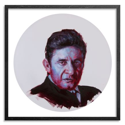 John Wentz Art Print - Johnny Cash