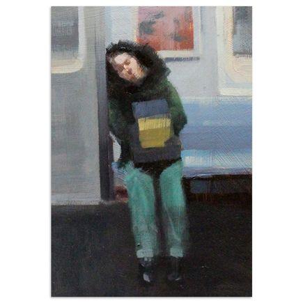 John Wentz Original Art - NYC Study No. 1 - Original Artwork