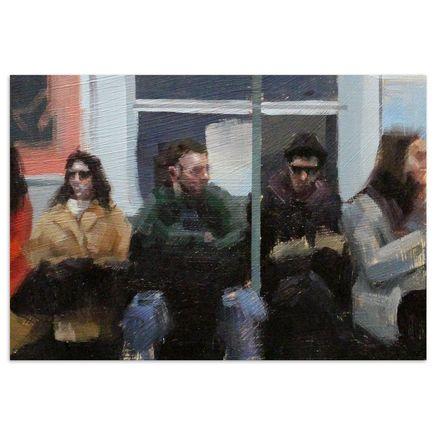John Wentz Original Art - NYC Study No. 2 - Original Artwork