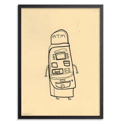 Jon Burgerman Original Art - ATM - Original Artwork