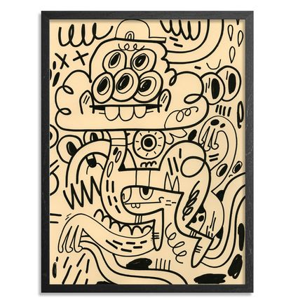 Jon Burgerman Original Art - Fullbleed Eyes - Original Artwork