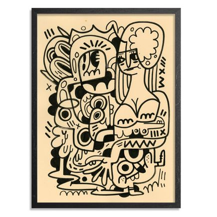 Jon Burgerman Original Art - Nature - Original Artwork
