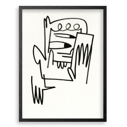 Jon Burgerman Original Art - Phone Clone 2 - Original Artwork