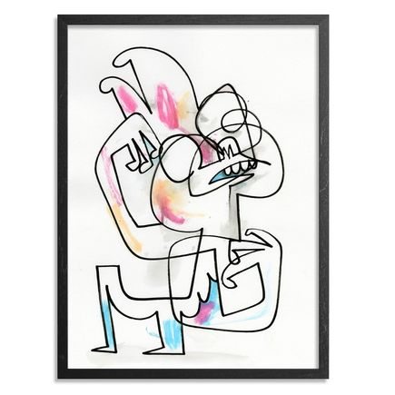 Jon Burgerman Original Art - Rabbit - Original Artwork