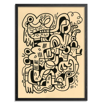 Jon Burgerman Original Art - Science - Original Artwork