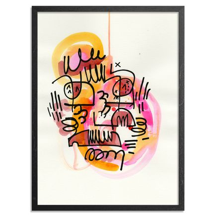Jon Burgerman Original Art - Splat 1 - Original Artwork