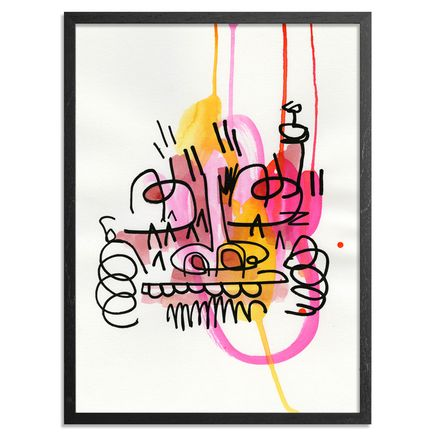 Jon Burgerman Original Art - Splat 2 - Original Artwork