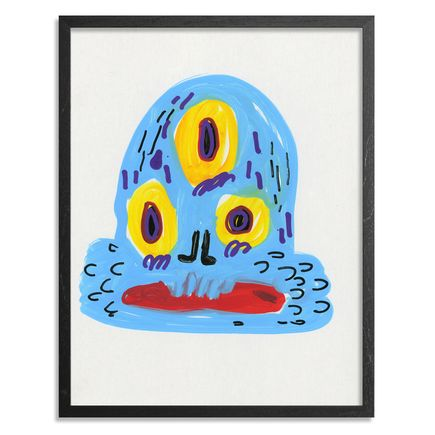 Jon Burgerman Original Art - Squid - Original Artwork