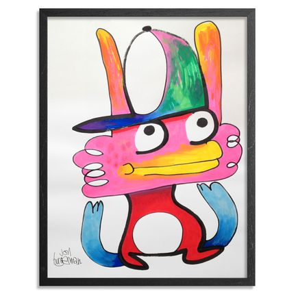 Jon Burgerman Original Art - Thought - Original Artwork