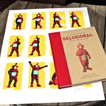 Jonathan LeVine Book - Delusional Print