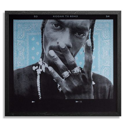 Jonathan Mannion Art Print - 4 Shizzle - Light Blue Edition