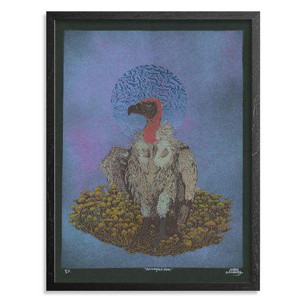 Jonny Alexander Original Art - Decomposition - Black - Edition Variant