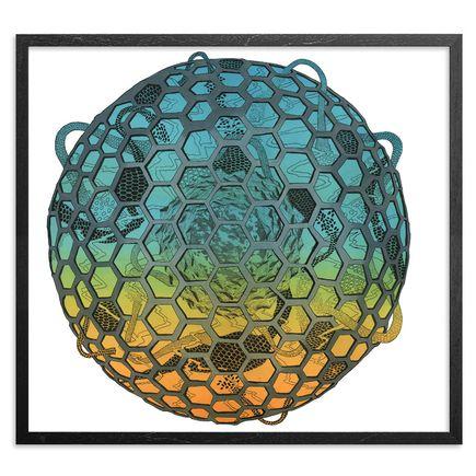 Jonny Alexander Original Art - Form Rise Fall