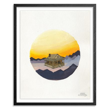 Jonny Alexander Original Art - High Altitude Solitude