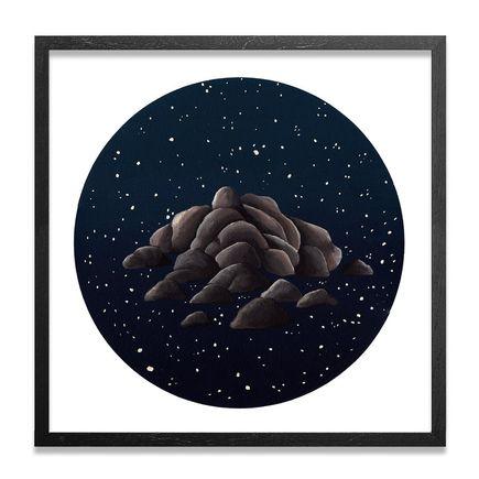 Jonny Alexander Original Art - Night And Stone
