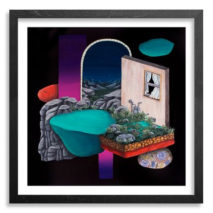 Jonny Alexander Art Print - On Which Side Of A Boundary