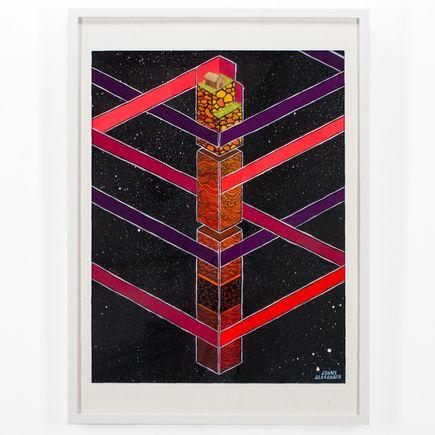 Jonny Alexander Original Art - The Pillar