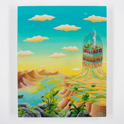 Jonny Alexander Original Art - Time Keeps Growing On