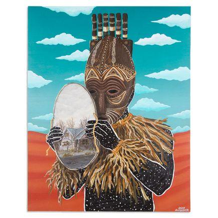 Jonny Alexander Original Art - Unmasked Stigma