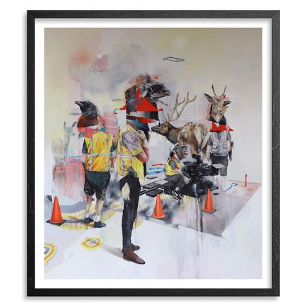 Joram Roukes Art Print - Lost Angeles + Action On Spring - 2 Print Set