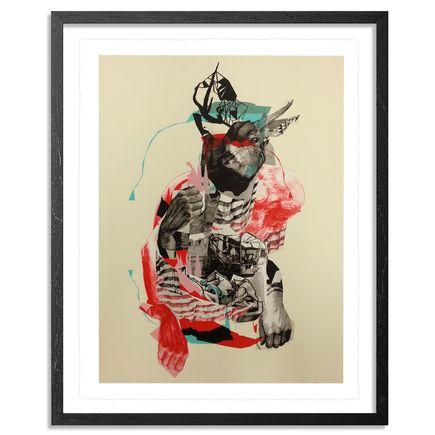 Joram Roukes Art - Buckwild - Hand-Embellished Edition