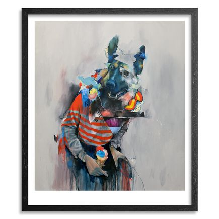 Joram Roukes Art - Five Scoops - Framed