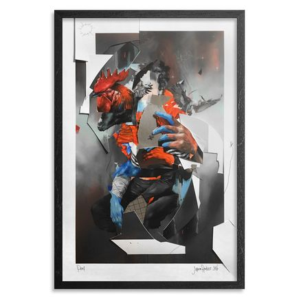 Joram Roukes Art Print - The European - Hand-Embellished Edition