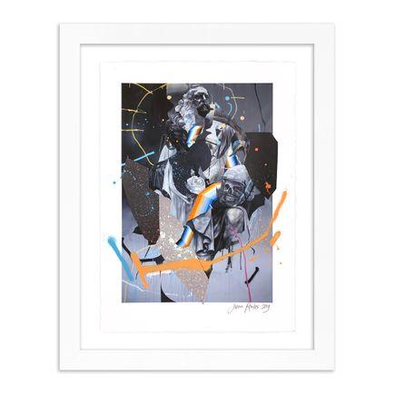 Joram Roukes Art Print - Stone Roses - Hand-Embellished Edition