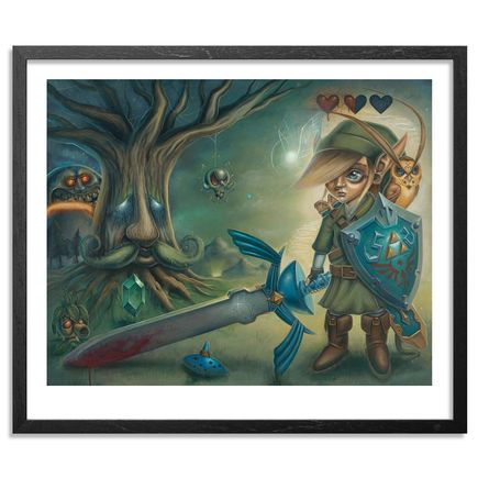 Jordan Mendenhall Art - Link's Journey - Limited Edition Prints Framed