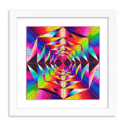 Jose Di Gregorio Art Print - Light Spectrum Delay - Blotter Edition