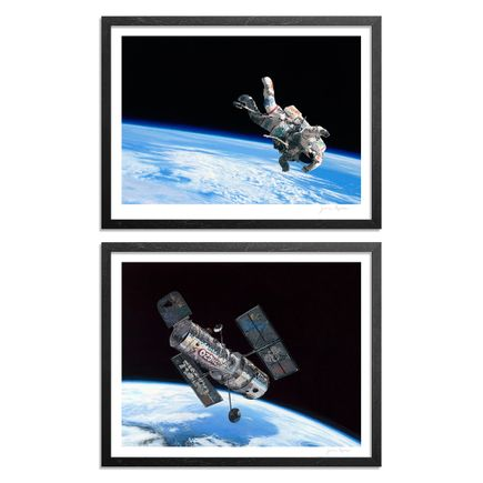 Josh Keyes Art Print - 2-Print Set - Float + Frontier I