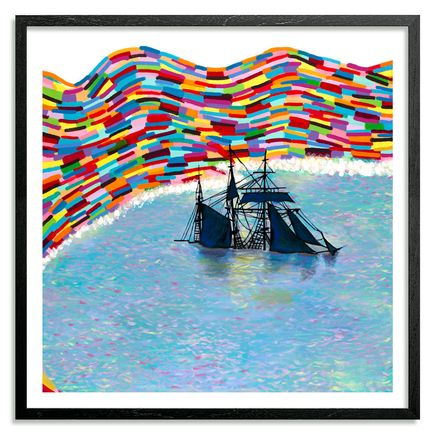 Joshua Petker Art - Beached - Framed