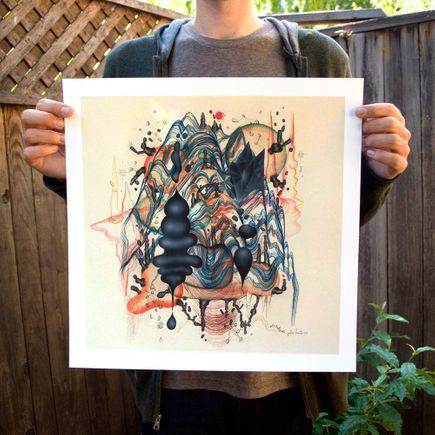 Justin Lovato Art Print - Matter