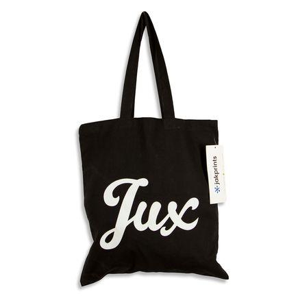 1xRUN Editions Art - Jux Script Logo - Tote Bag