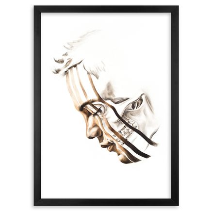 Kamea Hadar Art Print - Kema - Framed