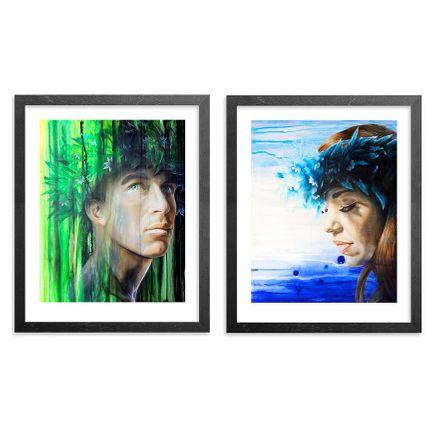 Kamea Hadar Art Print - 2-Print Set - Naupaka & Kaui