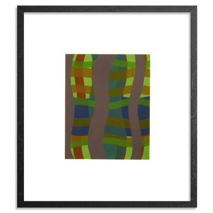 Katie Crowe Art Print - Tree Suite - Quercus A. - Violet