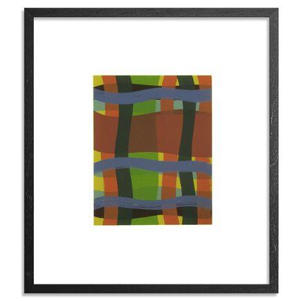 Katie Crowe Art Print - Tree Suite - Quercus C. - Blue