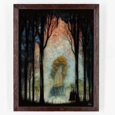 Andy Kehoe Original Art - Eternal Glow of the Celestial Peaks