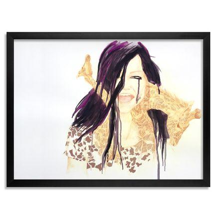 Kellesimone Waits Art Print - Cry Your Eyes Out