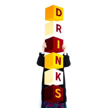 Kelly Golden Original Art - Drinks - Original Artwork