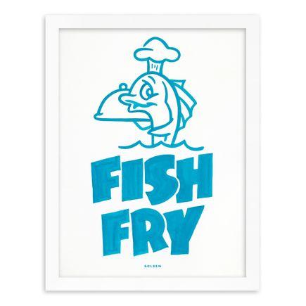 Kelly Golden Art Print - Fish Fry - Original Artwork