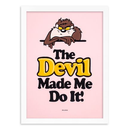 Kelly Golden Original Art - The Devil Made Me Do It - Original Artwork