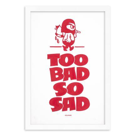 Kelly Golden Original Art - Too Bad So Sad - Original Artwork