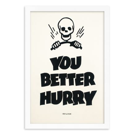 Kelly Golden Original Art - You Better Hurry - Original Artwork