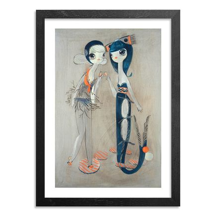 Kelly Tunstall Art Print - Dual - Hand-Embellished Edition