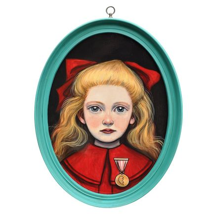 Kelly Vivanco Original Art - Gold Medal Broken Heart