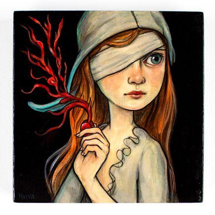 Kelly Vivanco Original Art - Red Seed