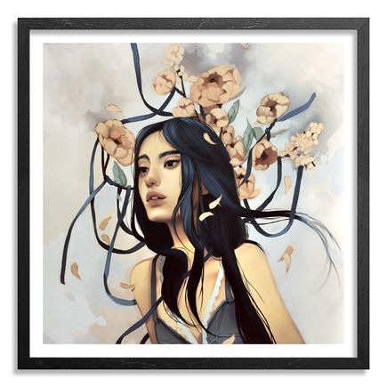 Kelsey Beckett Art Print - The Last Hopeless Glance - Hand-Embellished Edition